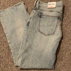 •NEW WITH TAGS• Men's Old Navy Boot Cut Jeans